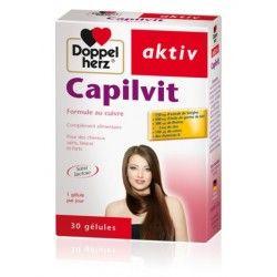 D.H AKTIV Capilvit Boite de 30 Comprimés