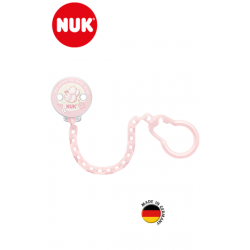Nuk Attache Sucette Rose