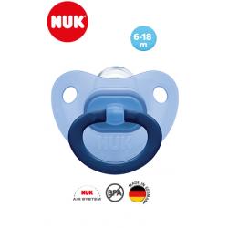 Nuk Sucette Fashion Bleu Avec Boite 6-18M