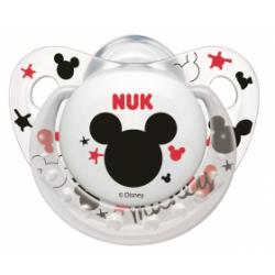 Nuk Sucette Mickey 0-6M Blanc