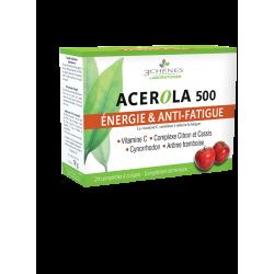 3 chênes Acérola 500 24 Comprimés