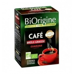 Biorigine Café Brule Graisse 12 Sachets