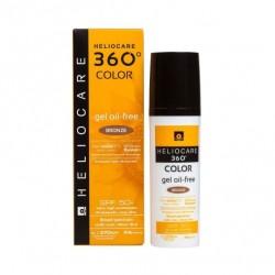 Heliocare 360° Gel Oil Free SPF50+ Bronze 50ml
