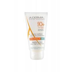 Aderma Ecran Protect Fluide Mat Ac Spf50+ 40ml