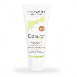 Noreva Exfoliac Fluide Solaire Matifiant SPF50+ 40ML