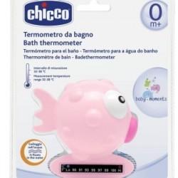 Chicco Thermomètre de Bain Rose