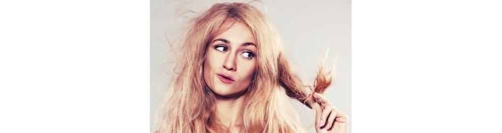 Lavage et soin cheveux secs
